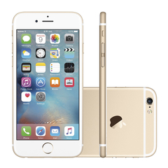 "iPhone 6s Plus Apple com 64GB, Tela 5,5"" HD, 3D Touch, iOS 9, Sensor Touch ID, Câmera iSight 12MP, Wi-Fi, 4G, GPS, Bluetooth e NFC - Dourado"