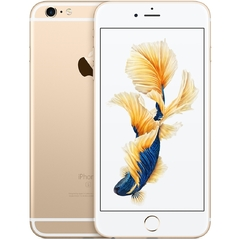 "iPhone 6s Plus Apple com 64GB, Tela 5,5"" HD, 3D Touch, iOS 9, Sensor Touch ID, Câmera iSight 12MP, Wi-Fi, 4G, GPS, Bluetooth e NFC - Dourado na internet"