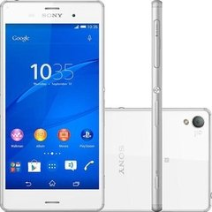 Smartphone Sony Xperia Z3 D6633, Quad Core, Android 4.4, Full HD 5.2´, 16GB, 20.7MP, Dual Chip + Smart Band  Branco