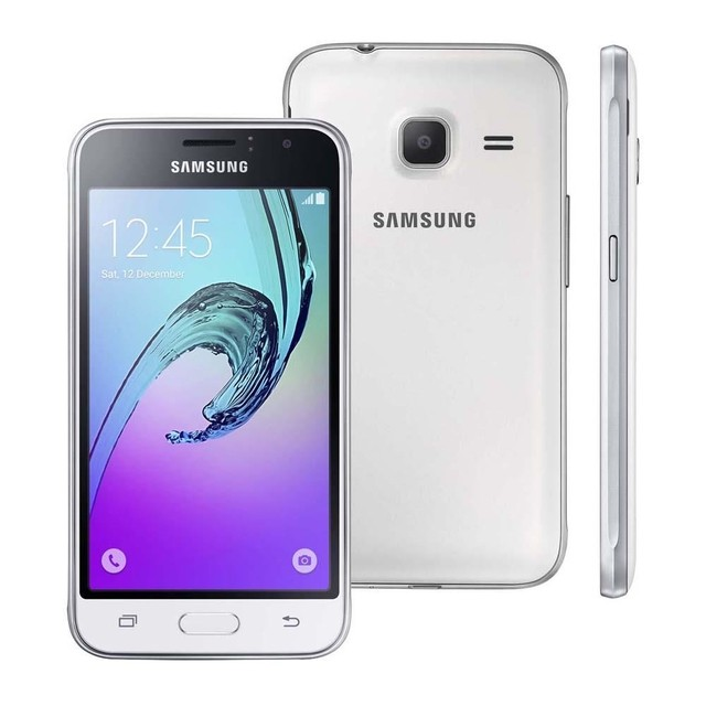 Smartphone Samsung Galaxy J1 Mini SM-J105B/DL Branco Dual Chip Android 5.1 Lollipop 3G Wi-Fi Câmera Traseira de 5 MP na internet