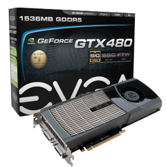 Placa De Vídeo Nvidia Geforce Evg Gtx 480 1,5gb Ddr5 384bits