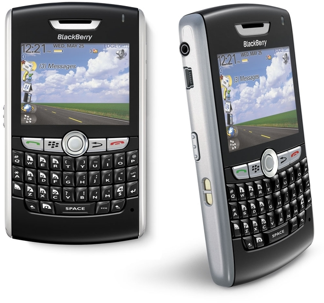 CELULAR BLACKBERRY 8800 Mp3 Player, Viva Voz, Rede EDGE, Quad Band (850/900/1800/1900) - infotecline