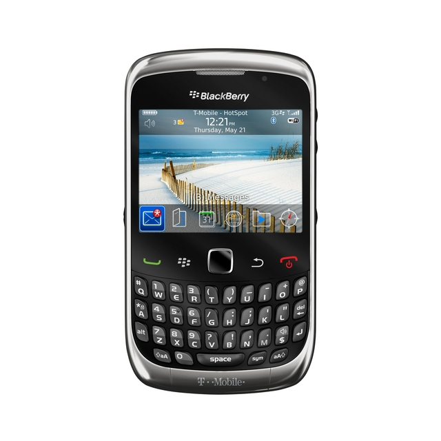 CELULAR BlackBerry Curve 3G 9300 Wi-FI, Foto 2 Mpx, mp3 player, bluetooth, Wi-fi e o GPS, QWERTY - comprar online