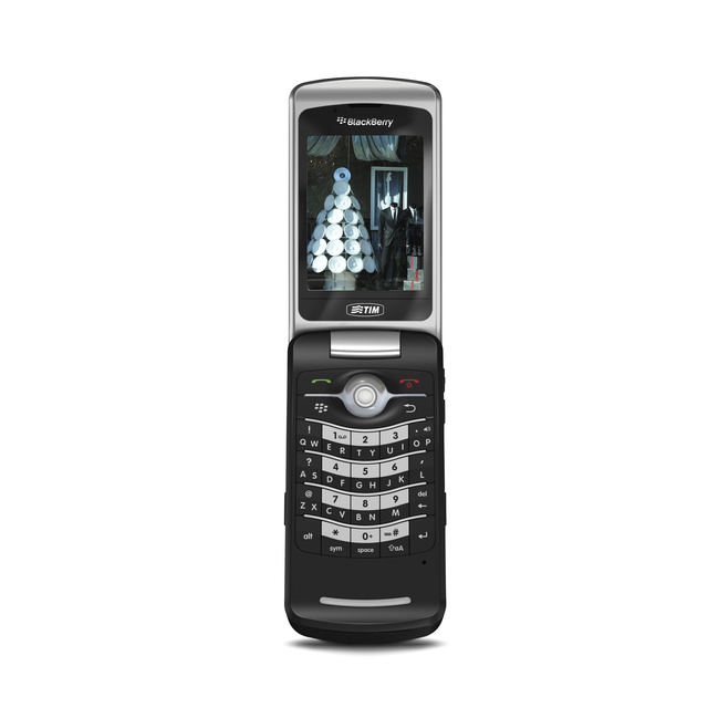 CELULAR RIM BlackBerry Pearl Flip 8220 Gps SIM, Foto 2 Mpx, 1 Core 312 MHZ, Blackberry OS, Wi-fi e o GPS, mp3 player, bluetooth