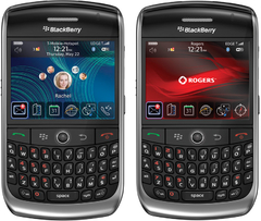 CELULAR BlackBerry 8900 Curve Foto 3.1 Mpx, Blackberry OS, Wi-fi e o GPS, mp3 player, bluetooth - infotecline