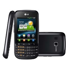 Smartphone LG Optimus Pro C660H, Android 2.3, 3.2MP, Qwerty/Touch, 3G, Wi-Fi, Preto na internet