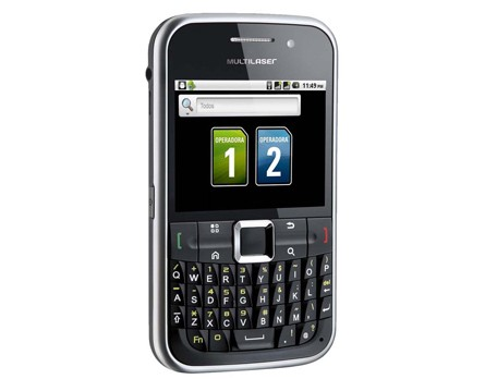 SMARTPHONE MULTILASER MERCURY P3169 ANDROID, DUAL CHIP, WI-FI, QUADRI BAND,TOUCHSCREEN