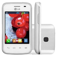 "Celular LG Optimus L1 II E410 Branco Single Chip,Tela De 3"", Android 4.1, Câmera 2MP, 3G, Wi-Fi, FM, MP3 E Bluetooth"