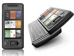 CELULAR Sony Ericsson Xperia X1 bluetooth, Wi-fi e GPS, Touchscreen E QWERTY, Foto 3.15 Mpx, Windows Mobile 6.1 na internet