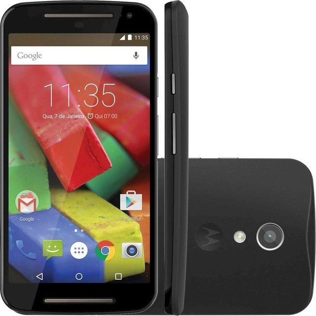 Smartphone Motorola Moto G XT-1069 Dual DTV  Colors Dual Chip Android 4.4 Tela 5