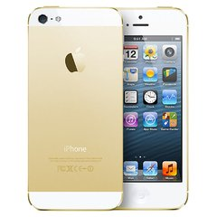"IPHONE 5S APPLE Gold COM 16GB, TELA 4"", IOS 8, TOUCH ID, CÂMERA 8MP, WI-FI, 3G/4G, GPS, MP3 E BLUETOOTH - 16GB"