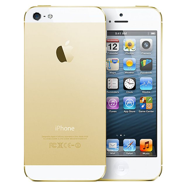 IPHONE 5S APPLE Gold COM 16GB, TELA 4