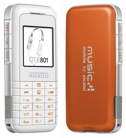 Celular Alcatel One Touch E801, Tri Band 900/1800/1900, GPRS, Viva Voz