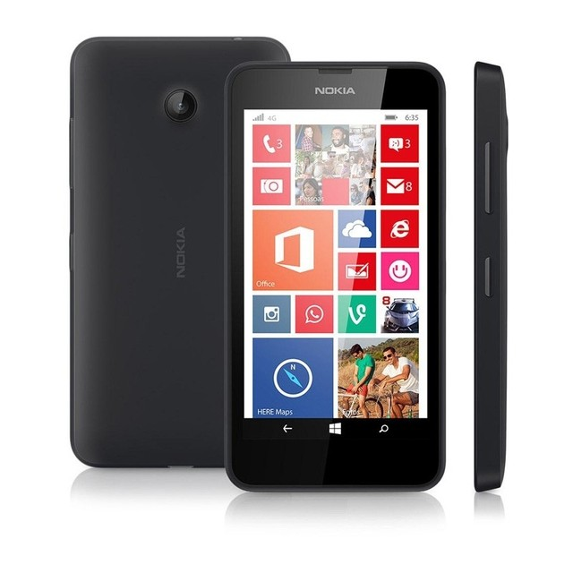 Smartphone Nokia Lumia 635 4G Windows Phone 8.1, Processador Quad-Core