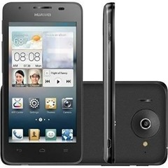 smartphone Huawei Ascend G510 U8951D Dual preto, Android 4.1, Dual-Core 1.2 GHZ, Foto 5 Mpx, mp3 player, radio, video conferência, bluetooth