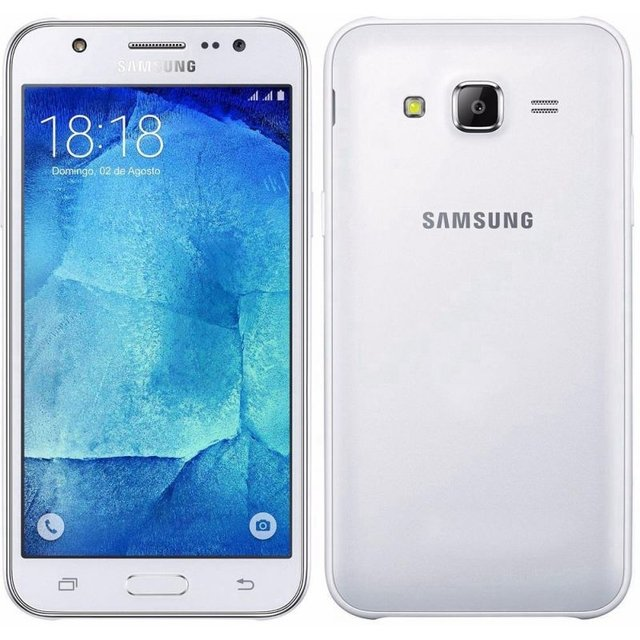 Smartphone Samsung Galaxy J7 Duos J700M Branco - Dual Chip, 4G, Tela 5.5 AMOLED, Câmera 13MP + Frontal 5MP Com Flash, Octa Core 1.5Ghz, 16GB - comprar online