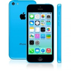 "iPhone 5C Azul Apple - 8GB - 4G - iOS 8 - Wi-Fi - Tela Multi-Touch 4"" - Câmera 8MP - GPS"