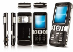 Celular Sony Ericsson K550i preto, Foto 2 Mpx, Mp3 Player, Bluetooth, Memória 20 MB EXP, Tri Band (900/1800/1900) na internet