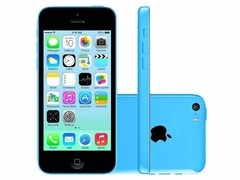 "iPhone 5C Azul Apple - 8GB - 4G - iOS 8 - Wi-Fi - Tela Multi-Touch 4"" - Câmera 8MP - GPS - comprar online"