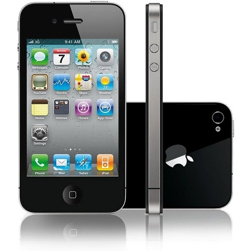 IPHONE 4S APPLE 64GB COM CÂMERA 8MP, TOUCH SCREEN, 3G, GPS, MP3, BLUETOOTH E WI-FI - PRETO