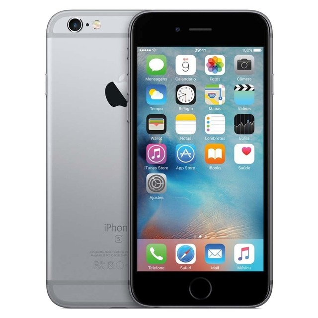 IPHONE 6S APPLE COM 16GB E TELA 4,7