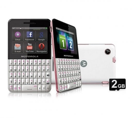 CELULAR MOTOROLA EX119 DUAL CHIP, WI-FI, BLUETOOTH, TOUCH SCREEN, MP3 PLAYER - comprar online