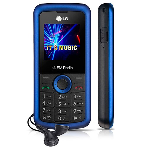 CELULAR LG KP109B DUAL BAND 900/1800 CLARO RADIO FM DISPLAY COLORIDO