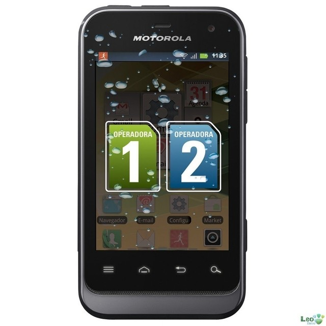 Celular Motorola Defy Mini Dual Chip XT-321 com Android 2.3,Touch Screen, Câm na internet