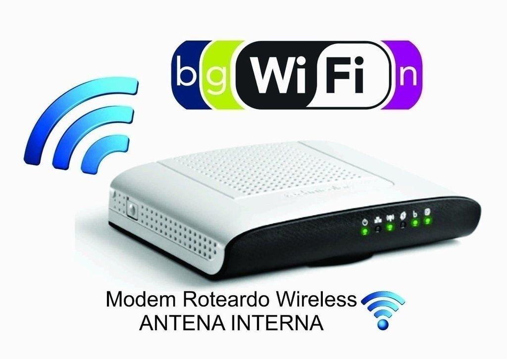 Modem Roteador Wireless Thomson Technicolor Td5136v2
