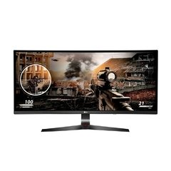 Monitor Gamer Curvo Lg 34 Ultrawide 144Hz 1Ms Motion Blur Reduction 34UC79G-B