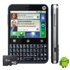 Motorola Mb502 Motoblur C/ Android 2.1, Touchscreen, Wi-fi, Foto 3.15 Mpx, Gps, 1 Core 600 MHZ, Quad Band (850/900/1800/1900) - comprar online