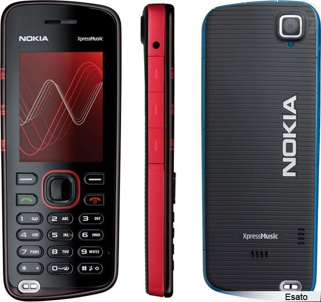 CELULAR NOKIA 5220 TIM XPRESSMUSIC, CAM 2.0, MP3, RÁDIO FM
