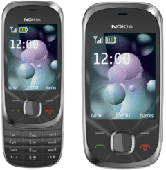 Celular Nokia 7230 Slide GRAFITE, 3g, 3.2mp, Bluetooth Mp3 - infotecline