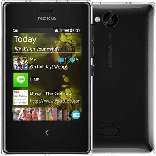 Nokia Asha 503 Dual Chip, 3g, Wi-fi, Fm, Cam 5mp preto mp3 player na internet