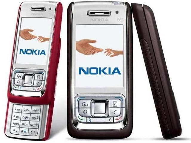 CELULAR Nokia e65 gsm quad band 3g wifi bluetooth email mp3
