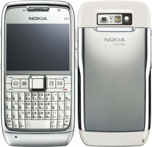 CELULAR NOKIA E71 3G C/ CÂMERA DE 3.2MP, WI-FI, GPS, MP3, BLUETOOTH na internet