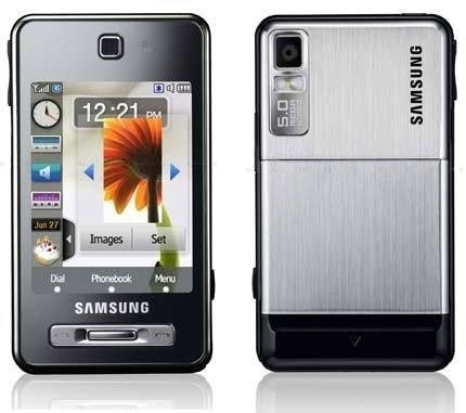 CELULAR SAMSUNG F450L, Bluetooth, player, radio, video conferência, mp3, Tri Band (900/1800/1900) - comprar online