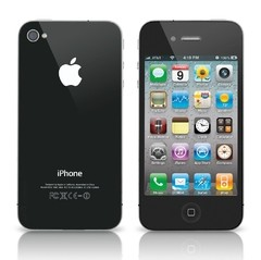 "iPhone 4 Preto 16 GB Apple - iOS 6 - 3G - Wi-Fi - Tela 3.5"" - Câmera de 5MP - comprar online"