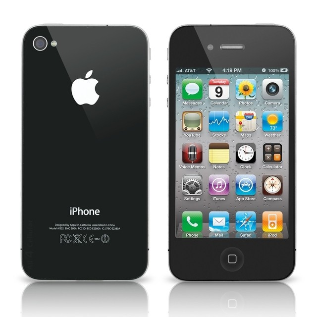 iPhone 4S Apple 8GB com Câmera 8MP, Touch Screen, 3G, GPS, MP3, Bluetooth e Wi-Fi - PRETO - infotecline
