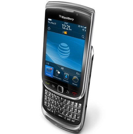 celular BlackBerry Torch 9800, preto, Blackberry OS 6.0, Foto 5 Mpx, 1 Core 624 MHZ, Quad Band (850/900/1800/1900)