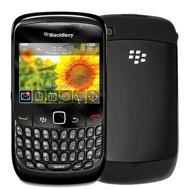 Smartphone Blackberry Curve 8520, Foto 2 Mpx, Blackberry OS, 1 Core 512 MHZ, Quad Band (850/900/1800/1900)