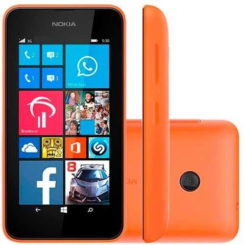 SMARTPHONE NOKIA LUMIA 530 WINDOWS PHONE 8.1 TELA 4