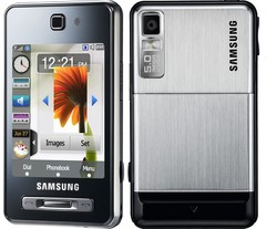 CELULAR SAMSUNG SGH-F480 mp3 player, radio, video conferência, bluetooth, Touchscreen