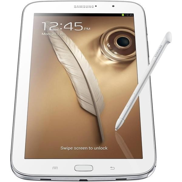 Tablet Samsung Galaxy Note 8.0 GT-N5110 - Android 4.1, 16GB, Tela 8, Câmera 5MP, Quad Core 1.6GHz, Wi-Fi, Branco - infotecline