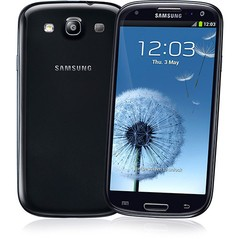 SAMSUNG GALAXY SIII I9300 PRETO 16GB 8MP 3G WIFI GPS