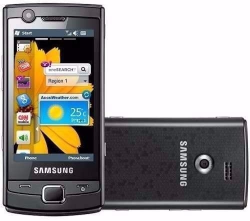 CELULAR Samsung Omnia Lite Gt-b7300b Mp3 Radio 3 mpx, Windows Mobile 6.1, Gps, Wi-fi, mp3 player, radio, video conferência, bluetooth