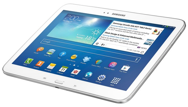 Tablet Samsung Galaxy Tab 3 GT-P5200 Android 4.2 16GB Tela 10.1´ Câmera 3MP, Quad Core 1.6GHz, Wi-Fi Branco - comprar online