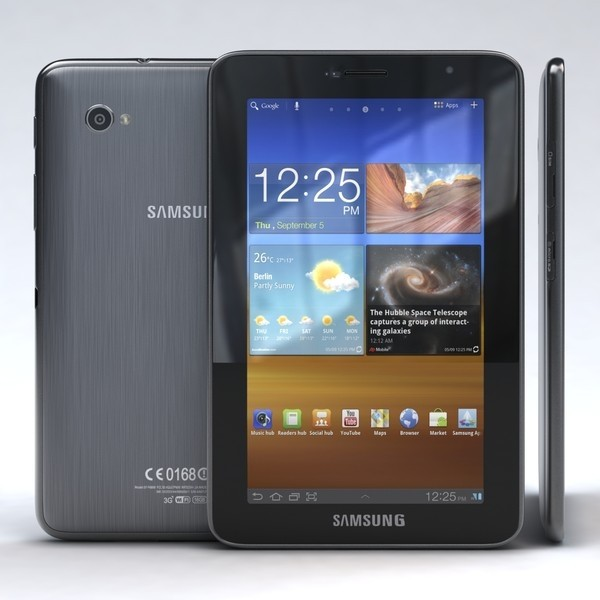 Tablet Samsung Galaxy P6200 com Android 3.2 Wi-Fi e 3G Tela 7'' Touchscreen e Memória Interna 16GB - infotecline