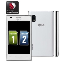 LG OPTIMUS L5  E615F  BRANCO  DUAL CHIP  ANDROID 4.0  3G  WI-FI  GPS  5MP  5x / 4""