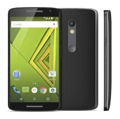 Smartphone Moto X Play 16GB XT-1563 Preto com Tela de 5.5'', Dual Chip, Android 5.1, 4G, Câmera 21MP e  Qualcomm Octa-Core - infotecline